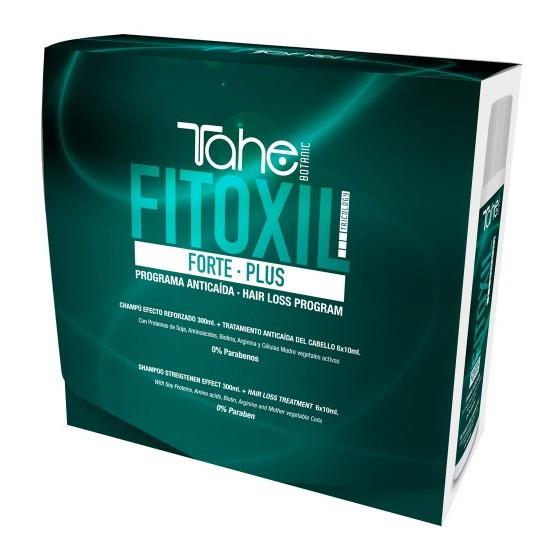 BOTANIC TRICOLOGY - PACK FITOXIL FORTE - Zestaw do pielęgnacji domowej (Szampon 300 ml + Ampułki 6 x10 ml)