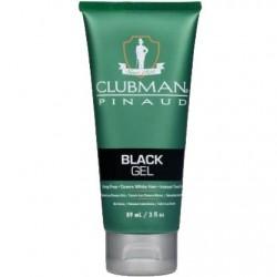 Gel Black żel koloryzujący włosy czarny 89 ml Clubman Pinaud