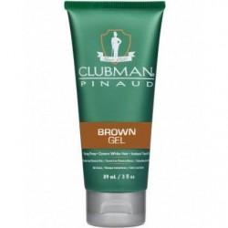 Gel Brown żel koloryzujący włosy brązowy 89 ml Clubman Pinaud