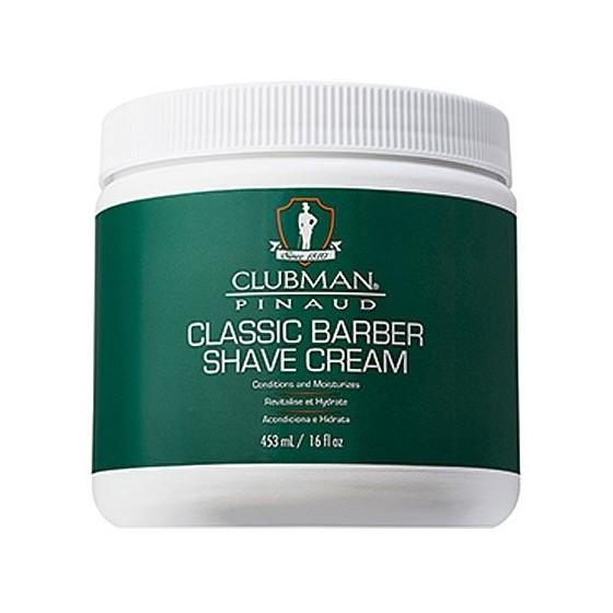 Classic Barber Shave Cream klasyczny krem do golenia 453 ml Clubman Pinaud