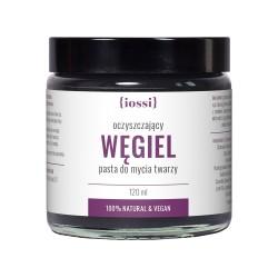 Iossi Węgiel, oczyszczająca pasta do mycia twarzy, 120ml