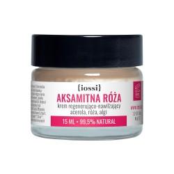 Iossi Aksamitna Róża, krem regenerująco-nawilżający z acerolą, różą i algami,15ml