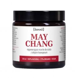 Iossi, May Chang, regenerujące masło do ciała z olejem konopnym, 120ml