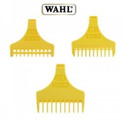 Wahl, zestaw 3 nasadek plastikowych żółtych do trymera Wahl Detailer, 1 1/2, 3, 4 1/2mm