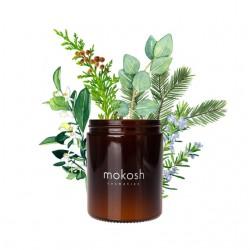 Mokosh, roślinna świeca sojowa, Jodłowy bór, 140g
