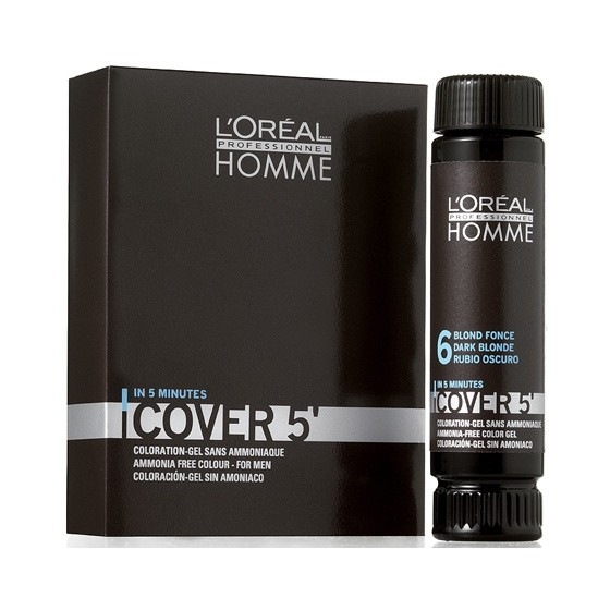 L'Oréal Professionnel Homme Cover 5 ODCIEŃ DARK BROWN 3X50ML