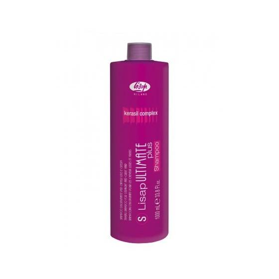 Lisap Ultimate, szampon do włosów prostowanych i kręconych, 1000ml