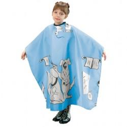 Fox Basic Line, peleryna dla dzieci w kolorze niebieskim, antystatycznaczna