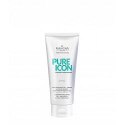 Farmona Pure Icon - Oczyszczający żel – maska do mycia twarzy z aktywnym węglem 200ml