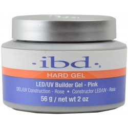 IBD BUILDER HARD GEL UV/LED PINK 56G - ŻEL BUDUJĄCY