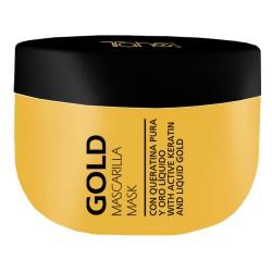 Tahe Gold Mask, Maska z aktywną keratyną i płynnym złotem 300ML