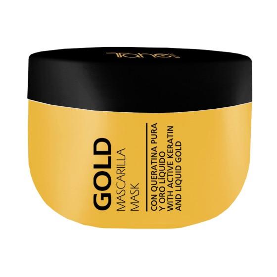 Tahe Gold Mask, Maska z aktywną keratyną i płynnym złotem 350ML