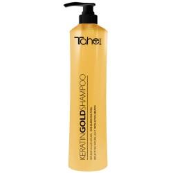 Tahe Gold Shampoo, Szampon z aktywna keratyną i olejem arganowym, 800ML