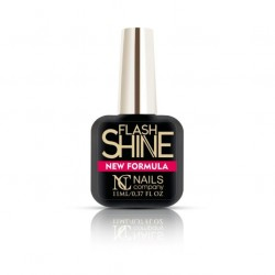 NAILS COMPANY FLASH SHINE NEW FORMULA TOP COAT 11 ML