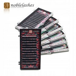 RZĘSY NOBLE LASHES RUSSIAN VOLUME D+ 0,05