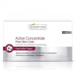 BIELENDA Active Concentrate, aktywny koncentrat z roślinnymi komórkami macierzystymi ( 10 AMPUŁEK)