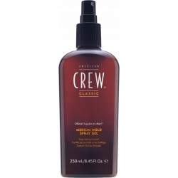 AMERICAN CREW MEDIUM HOLD SPRAY GEL SPRAY DO MODELOWANIA WŁOSÓW 250 ML