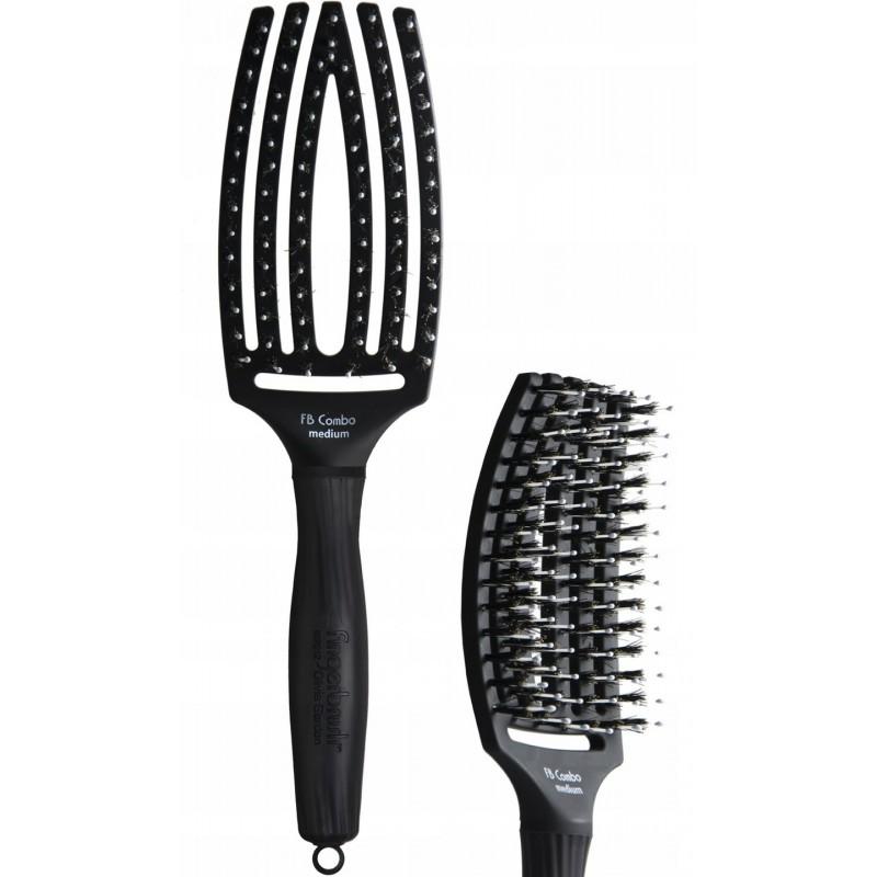 Szczotka Olivia Garden Finger Brush Medium Hairstyl Pl