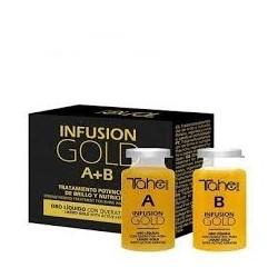 TAHE BOTANIC GOLD FINISHING - INFUSION GOLD (A+B) - ampułki 2 x 10 ml
