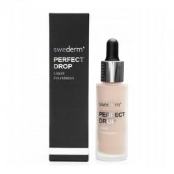 Swederm Perfect Drop Liquid Foundation Fluid odcień LIGHT IVORY 30 ml
