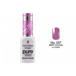 VICTORIA VYNN Kremowy Lakier Hybrydowy PURE kolor: 017 BERRY COCTAIL 8ML