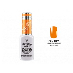 VICTORIA VYNN Kremowy Lakier Hybrydowy PURE kolor: 019 PERFECT ORANGE  8ML