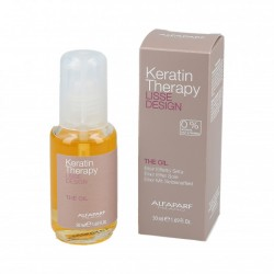 ALFAPARF LISSE DESIGN KERATIN THERAPY THE OIL - KERATYNOWE SERUM DO WŁOSÓW BABASSU 50ML