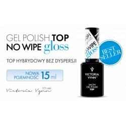 TOP NO WIPE GLOSS (błyszczący top bez przemywania) Victoria Vynn - 15 ml