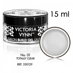 Żel budujący Victoria Vynn Totally Clear No.01 - SALON BUILD GEL - 15 ml