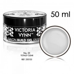 Żel budujący Victoria Vynn Totally Clear No.01 - SALON BUILD GEL - 50 ml