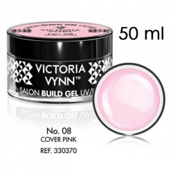 Żel budujący Victoria Vynn Cover Pink No.08 - SALON BUILD GEL - 50 ml