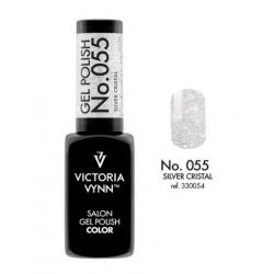 Victoria Vynn Lakier Hybrydowy 055-CG Silver Cristal 8ml