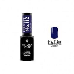Lakier hybrydowy GEL POLISH COLOR Blue Delicious nr 112 VICTORIA VYNN - 8 ml
