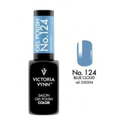 Lakier hybrydowy GEL POLISH COLOR Blue Cloud nr 124 VICTORIA VYNN - 8 ml