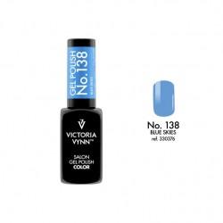 Lakier hybrydowy GEL POLISH COLOR Blue Skies nr 138 VICTORIA VYNN - 8 ml