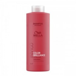 WELLA INVIGO BRILLIANCE SHAMPOO FINE/NORMAL HAIR - SZAMPON DO WŁOSÓW FARBOWANYCH, CIENKIE/NORMALNE, 1000 ML