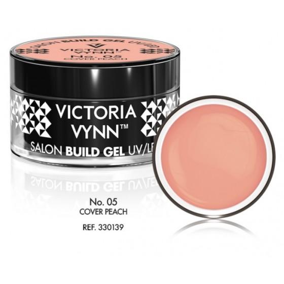 Żel budujący Victoria Vynn Cover Peach No.05 - SALON BUILD GEL - 50 ml