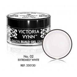 02 Ekstremalnie Biały żel budujący 15ml Victoria Vynn Extremely White