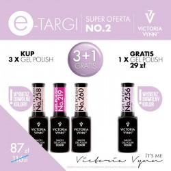 Victoria Vynn Zestaw promocyjny Gel Polish 3 + 1 Gratis!