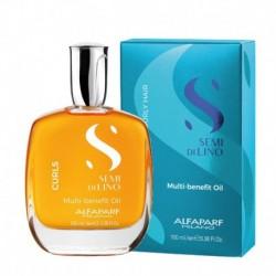 Alfaparf Semi Di Lino Curls Multi-benefit Oil - Olejek do włosów kręconych 100 ml