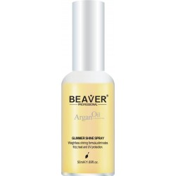 BEAVER ARGAN OIL GLIMMER SHINE  SPRAY DO WŁOSÓW 50 ML