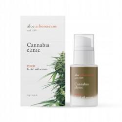 Organic Life Cannabis clinic rescue facial oil serum 15g