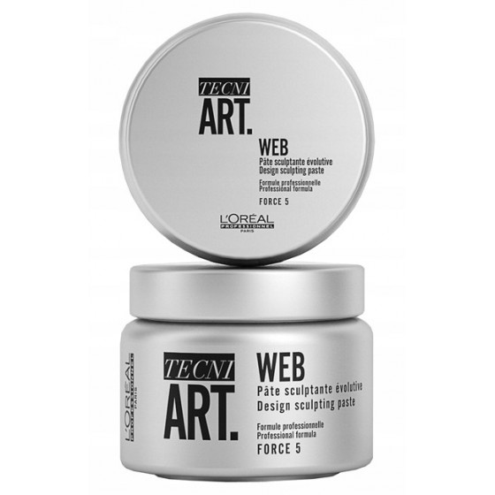 LOREAL Tecni Art A-Head Web Włóknisty Krem Rzeźbiący 150ml