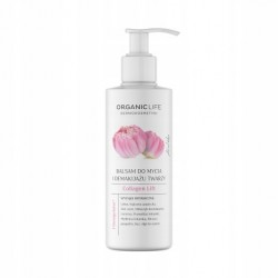 Organic Life Balsam do mycia i demakijażu twarzy Collagen Lift 200g