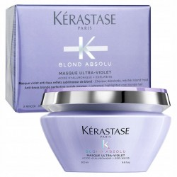 KERASTASE BLOND ABSOLU Ultra-Violet Maska Neutralizująca Włosy Blond 200ml