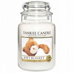 Yankee Candle Soft Blanket Miękki Koc Świeca Zapachowa 623g
