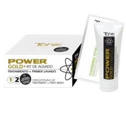 Zestaw Tahe POWER GOLD SHAMPOO profesjonalny mini do prostowania organicznego