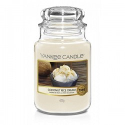 Yankee Candle Coconut Rice Cream Duża Świeca Zapachowa 623g