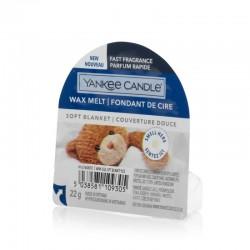 Yankee Candle Soft Blanket Wosk Zapachowy Pudełko 22g