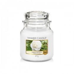 Yankee Candle Camellia Blossom Średnia Świeca Zapachowa 411g